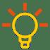 Light bulb - understanding, thinking, learning etc